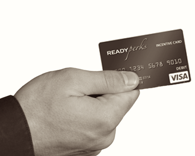 Handing You a READYPerks Card